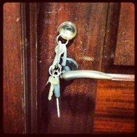 drzwi zamek