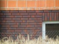ściana klinkierowa