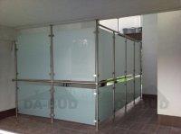szklane ścianki